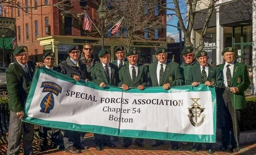 2016 Veterans Day Observance Chapter 54 SFA