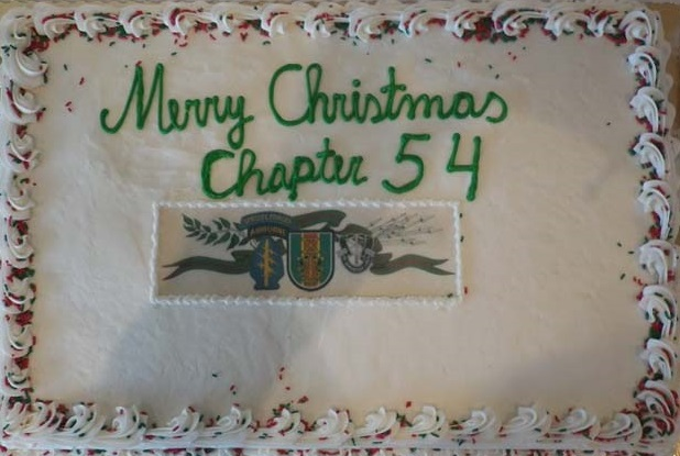 2017 Chapter 54 Xmas Party Cake